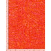 Batiikki Timeless Treasures, Tonga-B8009 Poppy, Soft springs, oranssi